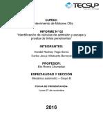 Informe N°02 - MMG