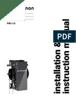 Pro LH InstructionManual