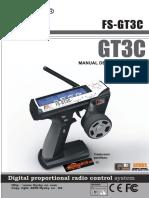Manual Emisora Flysky FS GT3C