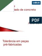 Aula 09 - Tolerância Em Peças Pré-fabricadas (1)