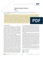 Estimating Specific Chemical Exergy of Biomass