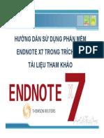 Huong Dan Endnote x7