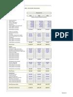 Planilla de Excel Para Balance Contable