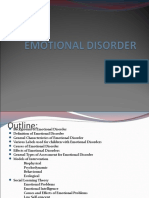 Emotional Disorder Ppt