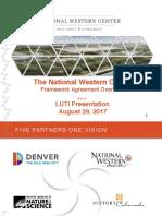The National Western Center Framework Agreement Overview