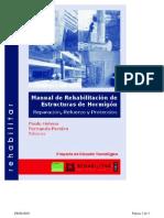 Manual Rehabilitacion de Estructuras Hormigon Reparacion Refuerzo