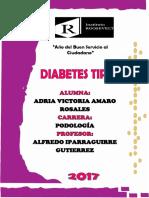 Monografia Diabetes Tipo 1 (1)