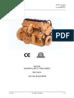 Motor Caterpillar C7 ACERT