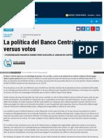 La Politica Del Banco Central