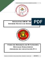 Gb II 09 Informe Tecnico de Siniestros