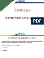Capítulo 5 - Fuentes de Información