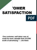 t Qm Customer Satisfaction