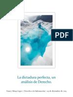 dictadura perfecta