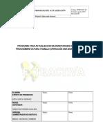 Programa de Actualizacion Para Inventariado de Peligros y Procedimientos