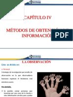 Capítulo 4 - Métodos de Obtención de Información