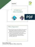 Everyday Ergonomics