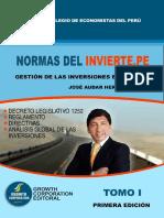Contenidos Libro Normas Del Invierte.pe