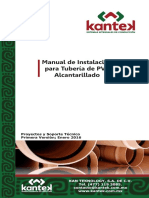 Manual de Instalacion Pvc Kantek