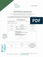 3-Corte de via de Av. San Luis, Palian y El Sol