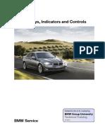 bmw 06_F10 Displays, Indicators and Controls
