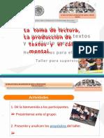Taller Toma de Lectura, Produccion de Textos y Calculo Mental Editable