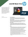 Workstations móviles HP