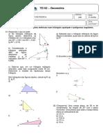 TD 02 - Trigonometria_relações Métricas Num Triângulo Qualquer_polígonos Regulares