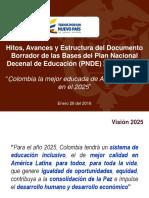 Plan Decenal Nacional de Educacion_2016_2025
