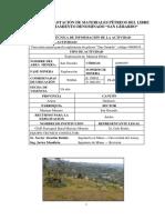 Informe Diseño de Explotación Mariano Moreno