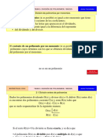 05b. Division de Polinomios y Raices