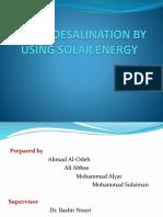Presentation of the Energy