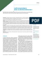 Estudio Descriptivo Del Perfil Neuropsicologico y Psicopatologico en Pac Con Distrofia