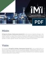 Brochure IMI Ingeniería S.a.S