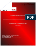 Informe Tecnico 372-17 Valvula CMO 36 Pulgadas