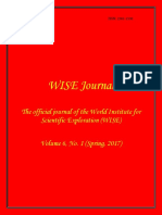 WISE Journal Volume 6, No. 1 (Spring, 2017)
