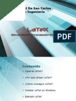 Presentación LaTex