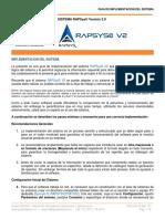 RAPSysV2 Guia Implementacion
