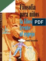 LIBRO JEzcurdia FilosofIa Para Ninos 2016
