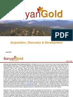 Proyecto Minero - Yukon - Banyan Gold