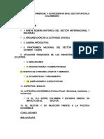 III Parcial Sector Avicola