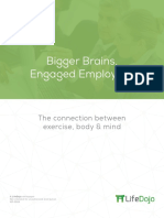Exercise and Your Brain-How-To Boost Employee Productivity