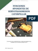 Manual Servotransmision Cat Componentes Funciones Circuitos Convertidor Valvulas Transmision Alivio Reductora Diferencial