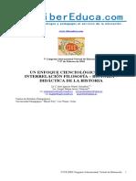 ENFOQUE CIENCIOLÓGICO DE LA INTERRELACIÓN FILOSOFÍA – HISTORIA – DIDÁCTICA DE LA HISTORIA