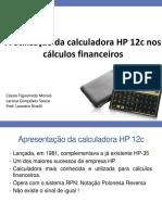 Minicurso Calculadora Hp 12c