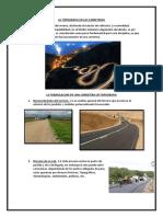 La Topografia en Las Carreteras