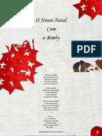 A Festa de Natal Doces e Sob Re Mesas Bimby