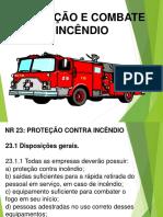 Aula NR23_Prevenção e Combate a Incêndio