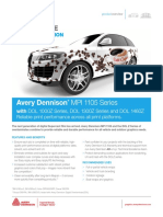 Avery Dennison MPI1105 EZ RS - PDS (Product Data Sheet