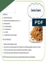 Receita Granola Caseira
