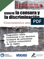 Entre la censura y la discriminación Centroamérica amenazada